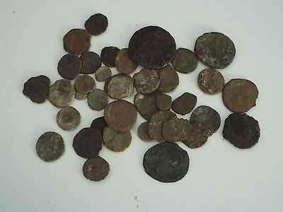 Roman Coins Not researched Job Lot Collection  - See The Pictures