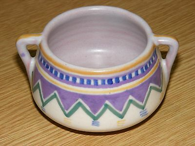 Poole Pottery - Carter Stable Adams - Wl Pattern Two Handled Bowl