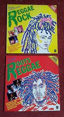 Roots Reggae & Reggae Rock vinyl LP's