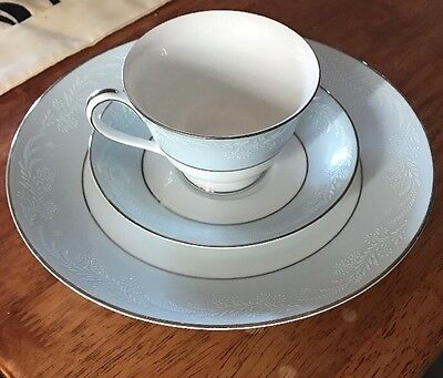 Noritake Laureate Cup Saucer And Plate