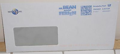 Collectors Mr Bean Universal Pictures Used Stamped Envelope From 27/3/2007