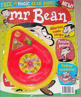 Collectors 2004 Mr Bean's Comic Book With Magic Bean Game Issue 1