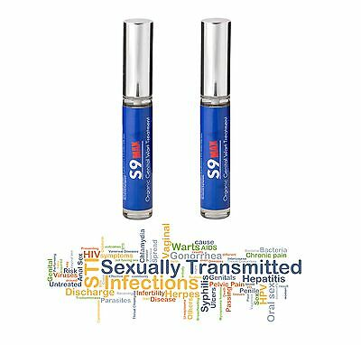 2 x S9 MAX Genital Wart Treatment Skin Tags Women Men HPV UK Made STD Natural