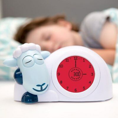 """Sam Sheep"" Sleep Clock in White/Blue, White/Grey, White/Pink"