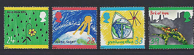 Great Britain 1992 Protection of the Environment. Children's Paintings MNH