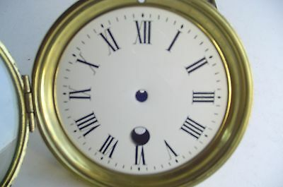 Clock Dial Bezel and Glass for parts or repairs