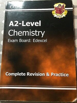 A2-Level Chemistry Edexcel Complete Revision & Practice by CGP Books (Paperback…