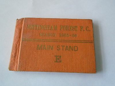 Forest Season Ticket 1965-66