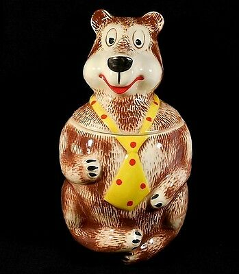 Vintage Hamms Bear Mccoy #148 Usa Cookie Jar Beautiful Condition No Damage