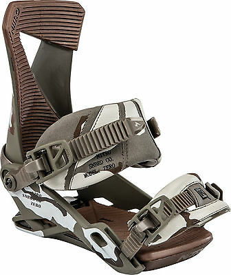 Nitro Zero Snowboard Bindings 2015 Two Strap All-Mountain Freestyle Binding