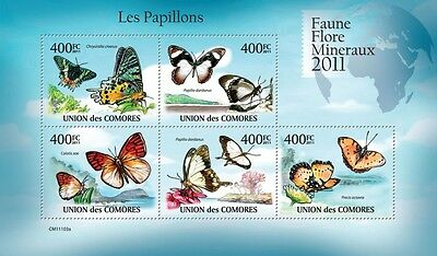 BUTTERFLIES #3 16 diff. mini sheets & sets MNH composition Collection #Y03