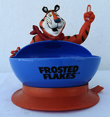 Tony The Tiger Frosted Flakes Kelloggs Suction Cup Cereal Bowl Kids