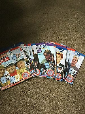 ONLY FOOLS AND HORSES DVD MAGAZINE COLLECTION - 1 TO 29 MAGAZINES ONLY No DVDS