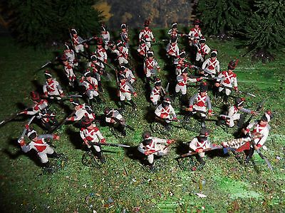 1/72 20mm 25mm French Army PAINTED Swiss Guard Infantry Napoleonic Wars Wargames
