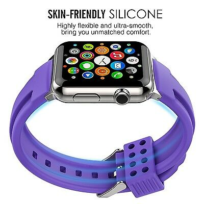 PURPLE POP Wristband Band Bracelet Strap Accessories For iWatch 38MM APPLE WATCH