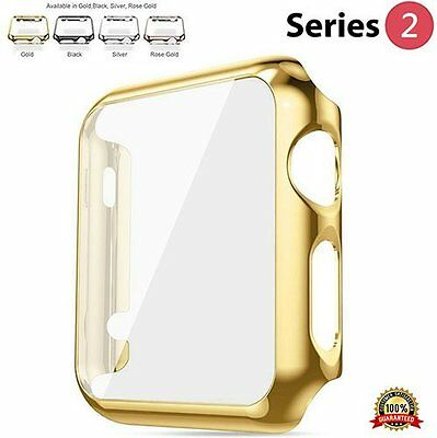 GOLD Slim Cover Protector Sleeve Case Bumper Skin For iWatch 38MM APPLE WATCH