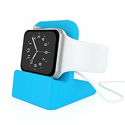 SKY BLUE STAND Charger Charging Dock Station For iWatch APPLE WATCH