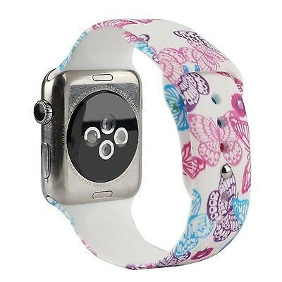 BUTTERFLY CLOUD M/L Wristband Strap Band Bracelet For iWatch 38MM APPLE WATCH