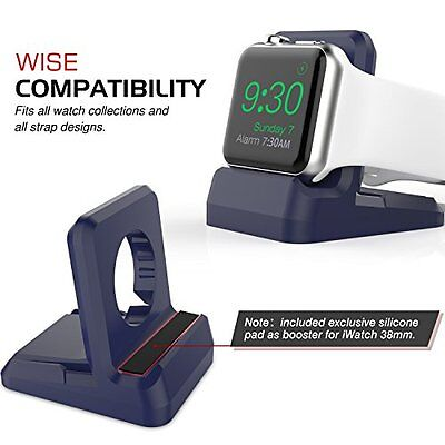 MIDNIGHT BLUE Stand Charger Charging Dock Station For iWatch APPLE WATCH