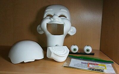 Mike Brose Ventriloquist Head Casting Skippy 3T with High Quality Eyes