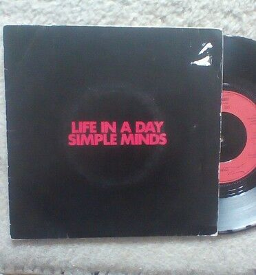 Simple Minds.Life in a day.VINYL.punk