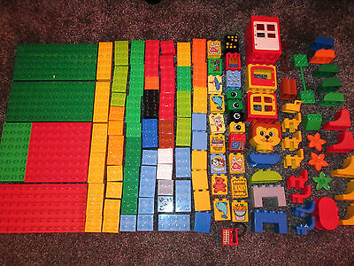 Lego Duplo 1.4 Kg Mix of Bricks - Plates from various sets - some hard to find