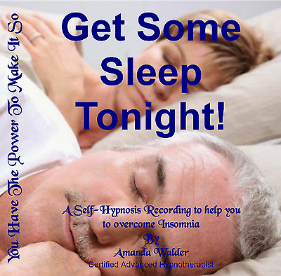 Get Some Sleep Tonight! Hypnotherapy CD - Insomnia Wakefulness Restlessness