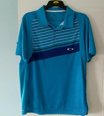 oakley golf polo shirt size large