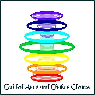 Guided Aura And Chakra Cleanse Hypno-Meditation CD - Self-Help