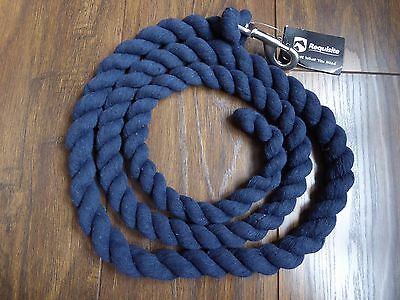 Requisite Navy Blue Horse Lead Rope