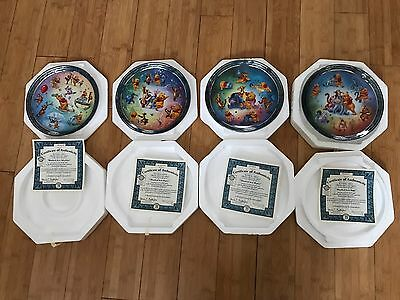 bradford exchange Winnie The Pooh Hundred Acre Happiness Collection Plates