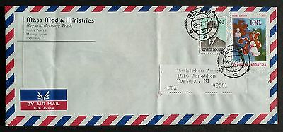 INDONESIA # POSTAL COVER to US, 1979
