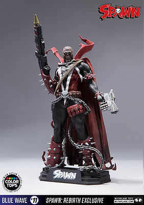 McFARLANE SPAWN - #11 SPAWN REBIRTH EXCLUSIVE  -  COLOR TOPS FIGUR - NEU