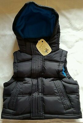 Boy's Puffer Vest With Removable Hood (Size 1)***brand New With Tags***$5 Post