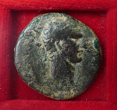 Nerva Roman emperor SC reverse AE bronze AS Antioch 27mm 96-98 AD