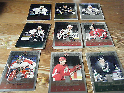 49   Donruss Elite   1995-1996    American Ice Hockey Cards  Mint All   Listed