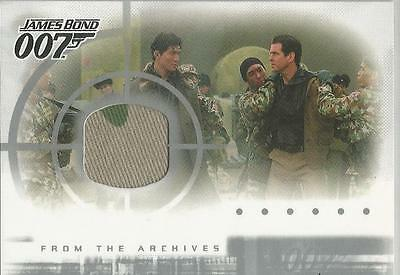 James Bond Die Another Day - AC1 Case Topper Costume Card