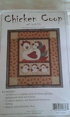 Chicken coop wall quilt kit