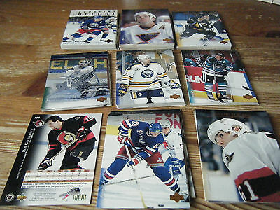 100   Upper Deck   1995-1996   American Ice Hockey Cards Mint All    Listed