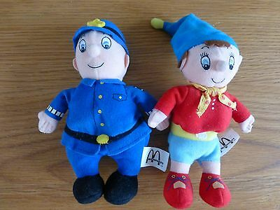 Noddy and Mr Plod Collectable McDonald's Soft Plush Toys