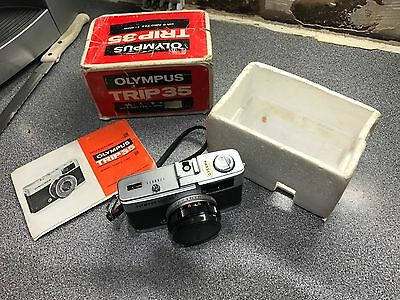 Vintage Olympus Trip 35,  With Instructions, V.G.C. Full Working Order