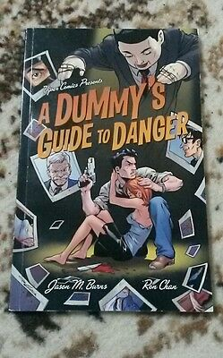 A Dummy's Guide to Danger: Volume 1 by Jason Burns Ron Chan graphic novel comic