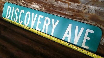 """6"""" x 30"""" Authentic """"DISCOVERY AVE"""" STREET TRAFFIC HIGHWAY ROAD INTERSTATE SIGN"""