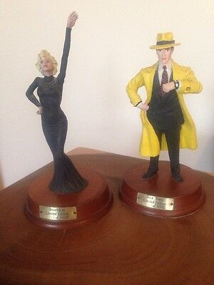 MADONNA Warren Beatty Rare Limited Edition Statue Dick Tracy Breathless Applause