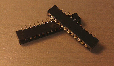 11 and 13 pin membrane keyboard connectors for ZX Spectrum +2A/+3 motherboard
