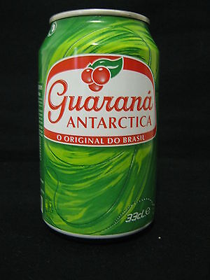 GUARANA  antarctica- empty 330ml can from portugal for israel market.