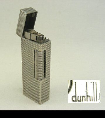 Vintage Dunhill Silver-plated Lighter
