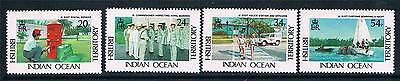 British Indian Ocean Territory 1991 Admistration set SG111/4 MNH