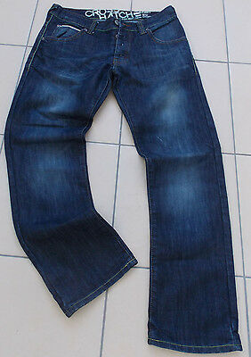 Crosshatch Mens Jeans Regular Fit W34 L32 in Great Condition