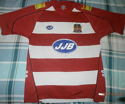 2006  Wigan  Warriors  Rugby  League  Football  Shirt - Small